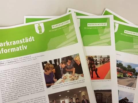 """Stadtjournal """"Markranstädt informativ"""""""