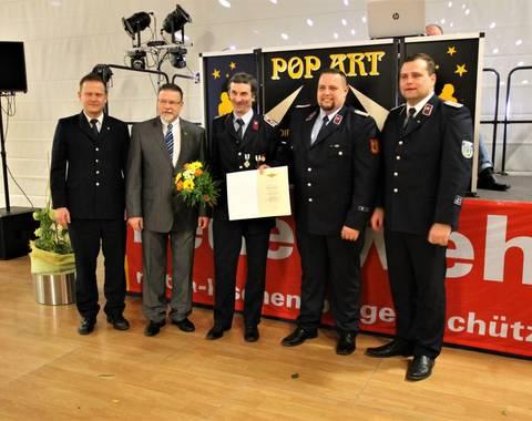 Jubilar 40 Jahre Feuerwehr (Mittel)