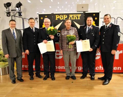 Jubilar 50 Jahre Feuerwehr (Mittel)