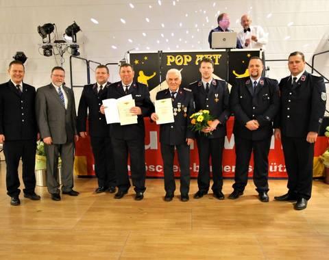 Jubilar 60 Jahre Feuerwehr (Mittel)